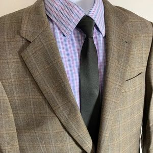 Jos A. Bank  Multi-Color Check Sport Coat Sz 41L
